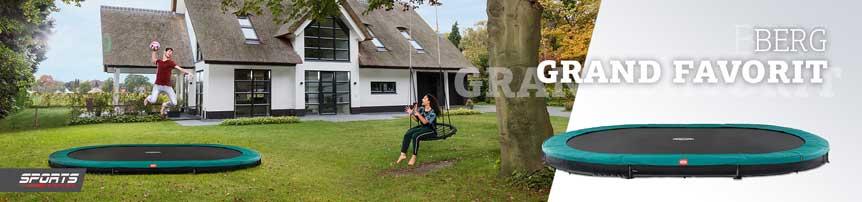 BERG Trampolin Grand oval