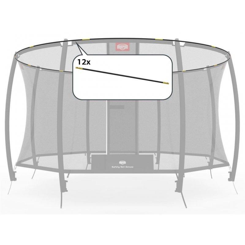berg trampolin fiberglasbogen f r sicherheitsnetz deluxe 380cm 51. Black Bedroom Furniture Sets. Home Design Ideas