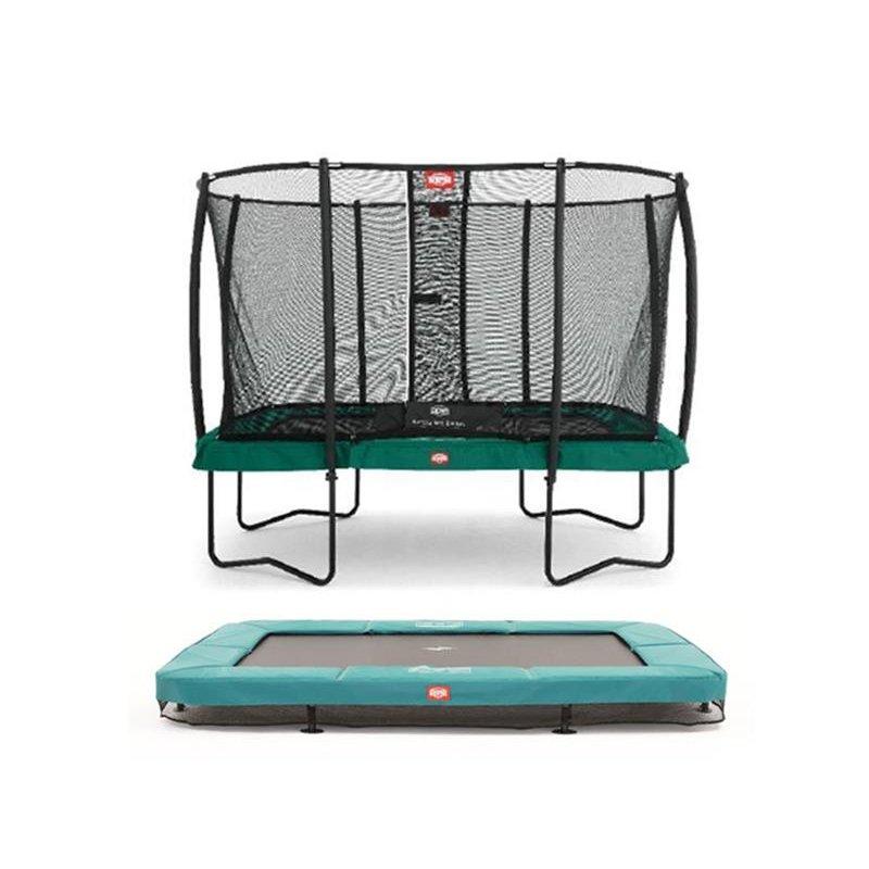 berg trampolin rechteckig eazyfit. Black Bedroom Furniture Sets. Home Design Ideas