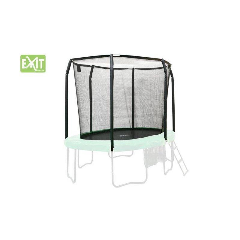 exit trampolin sicherheitsnetz oval 244 x 380 cm 8 x 12 5 ft 1106120. Black Bedroom Furniture Sets. Home Design Ideas