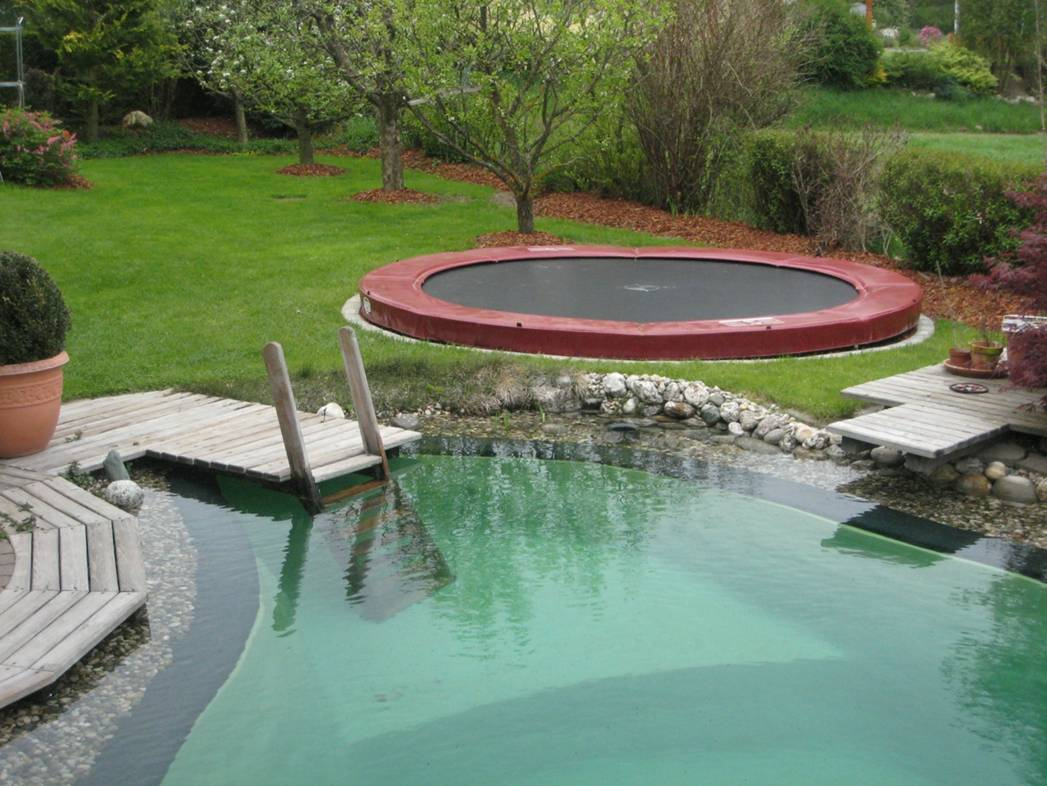 berg inground auf trampolin verfahren ab in den. Black Bedroom Furniture Sets. Home Design Ideas