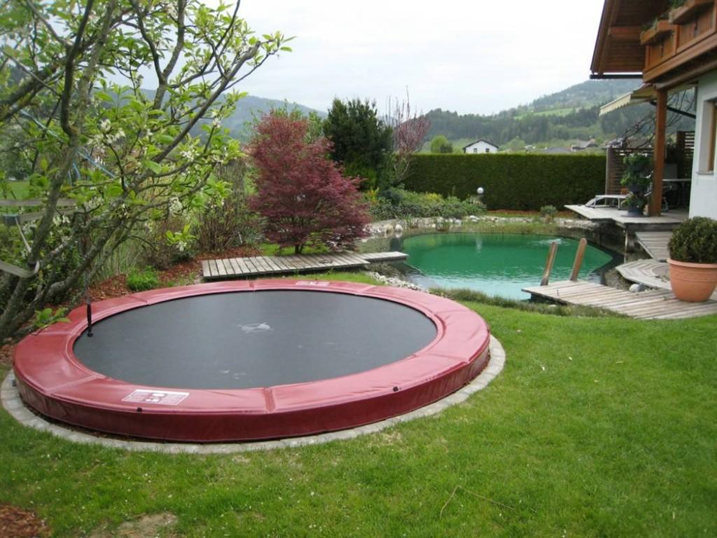 unser top angebot berg elite inground trampolin. Black Bedroom Furniture Sets. Home Design Ideas