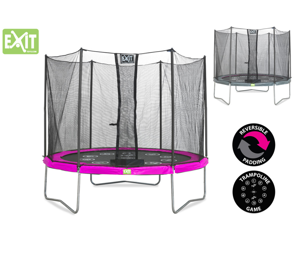 Trampolin in Pink - Mädchenträume erfüllen zu Bestpreisen