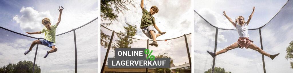 Trampolin Online Lagerverkauf bei trampolin-profi.de