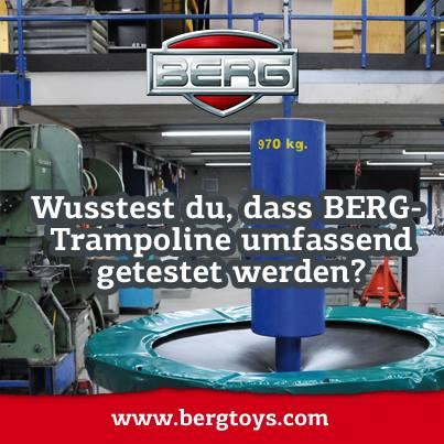 So eine hohe Qualität gibt es nur bei BERG Trampolinen auf www.trampolin-profi.de