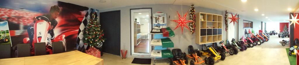 Bayerns größte Gokart-Ausstellung hat in der Weihnachtszeit für Sie geöffnet - www.gokart-profi.de - www.trampolin-profi.de