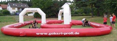 Feste geplant - trampolin-profi.de - Mobile Gokartbahn - Events