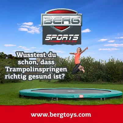 Trampolin Übungen zum Abnehmen - BERG Sport - trampolin-profi.de
