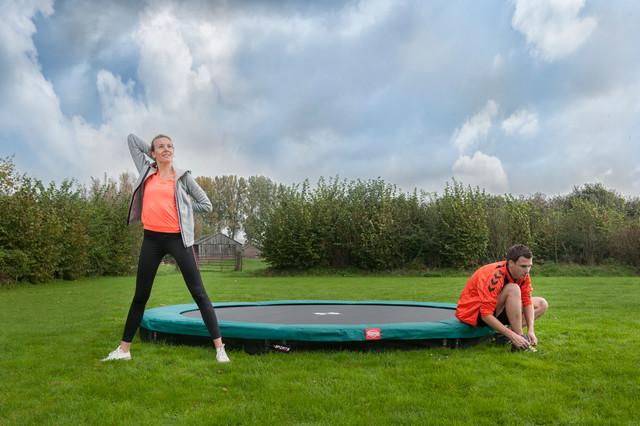 Bodentrampolin Inground - BERG InGround Favorit - trampolin-profi.de