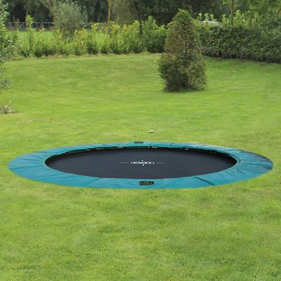 exit supreme ground level trampoline die neue art von. Black Bedroom Furniture Sets. Home Design Ideas