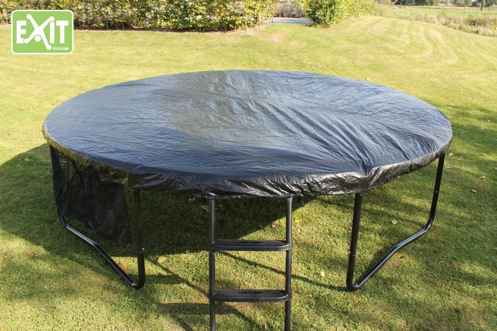 Winterabdeckung für Trampoline - preisgünstig von EXIT Toys auf trampolin-profi.de