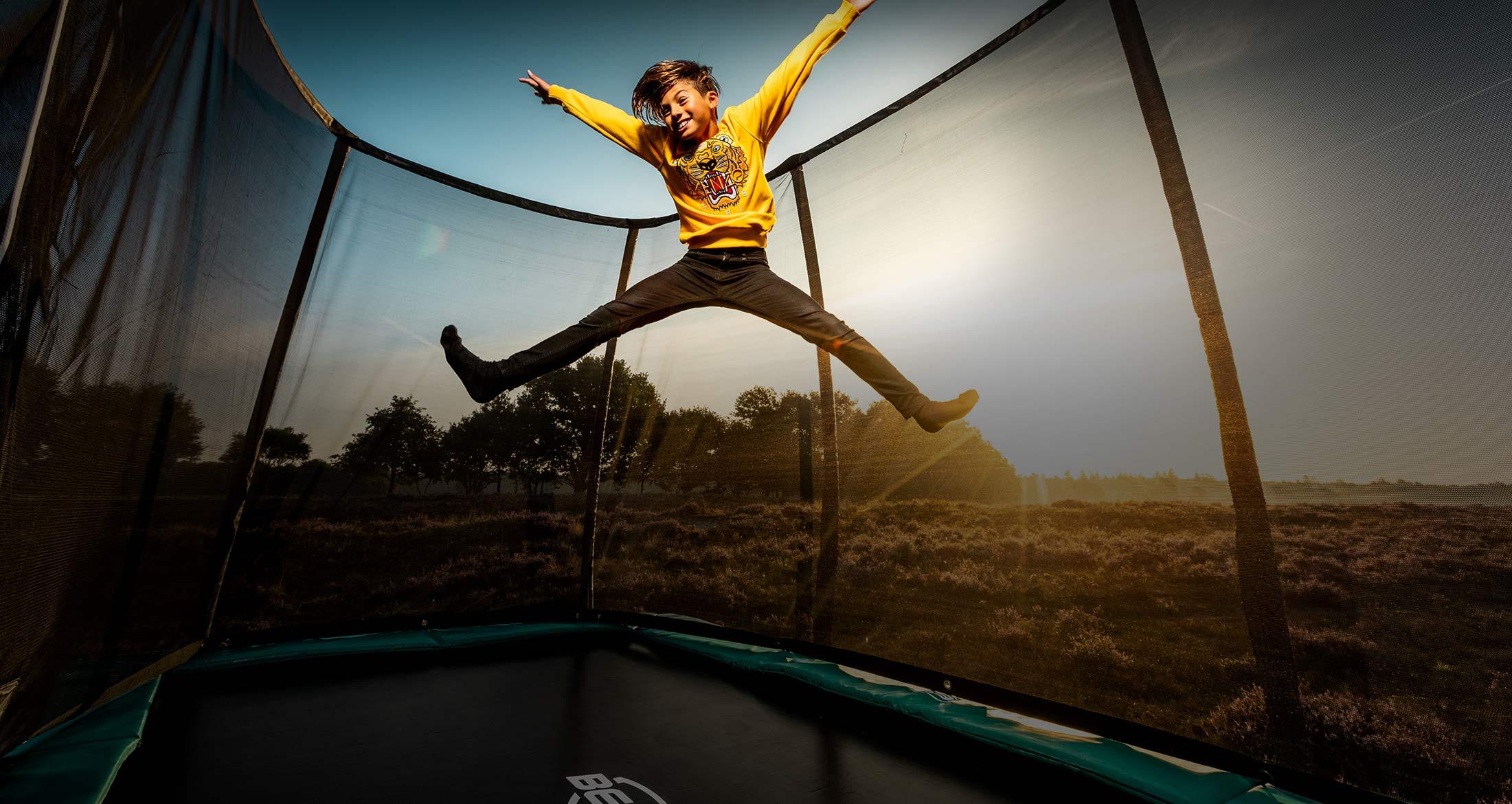 Trampolin Check - BERG Champion Modellübersicht - trampolin-profi.de