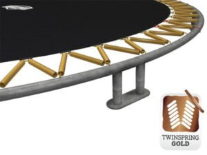 Twin Spring Gold Feder - Beratung Technik trampolin-profi.de