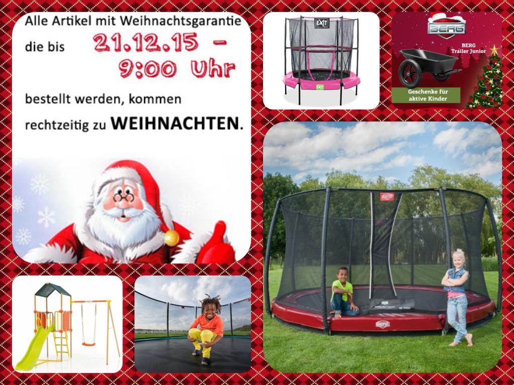 Lieferxyz123 zu Weihnachten auf trampolin-profi.de