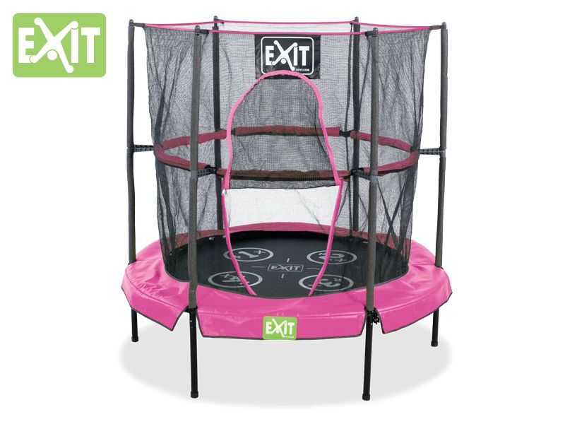 indoor trampolin f r kids exit bounzy minitrampolin. Black Bedroom Furniture Sets. Home Design Ideas