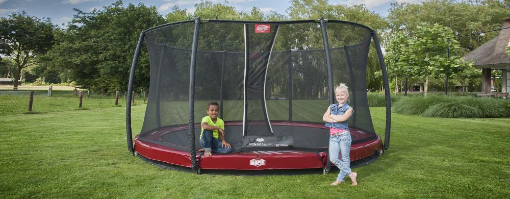 Bodentrampolin Inground - kaufen auf trampolin-profi.de - Trampolin ebenerdig