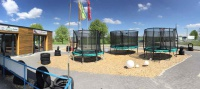 Trampolin Outdoor Test bei trampolin-profi.de bei Nürnberg