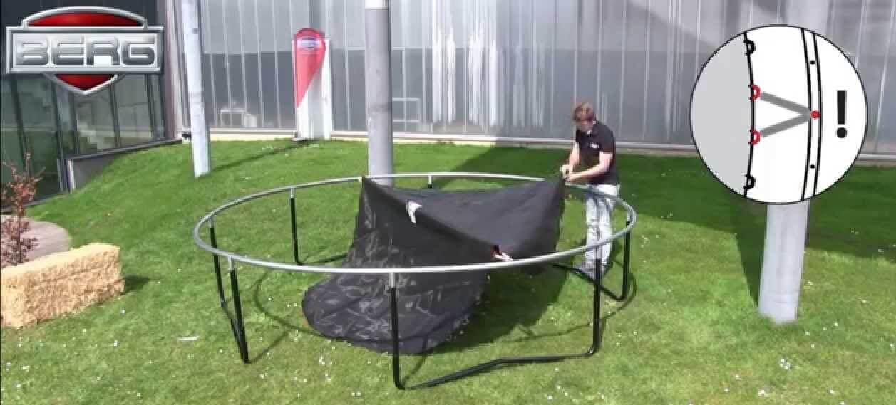 Trampolin Aufbauanleitung - trampolin-profi.de hilft weiter