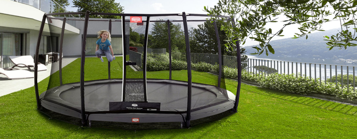 berg trampolin aufbauanleitung einfach schnell. Black Bedroom Furniture Sets. Home Design Ideas