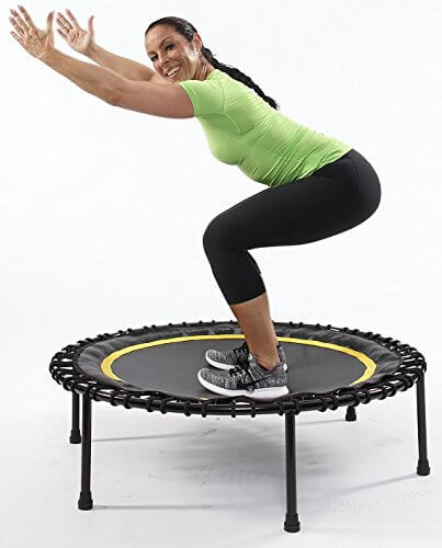 trampolin Übungen zum abnehmen - jumping fitness  trampolin-profi.de