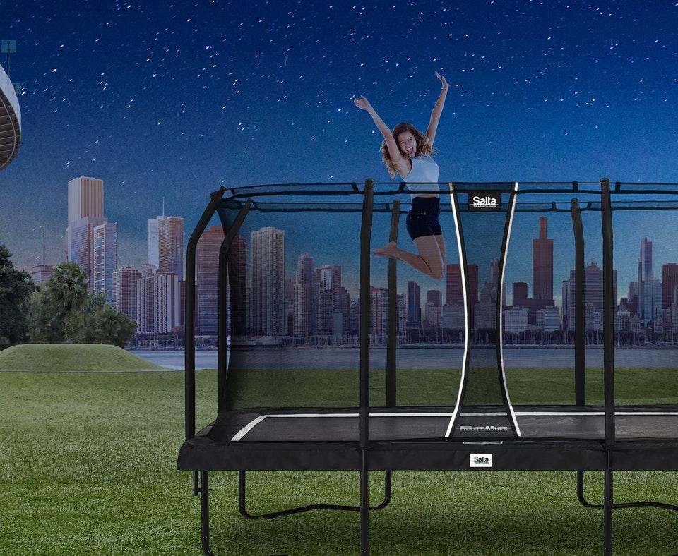 SALTA Premium Black im TRAMPOLIN FERIENANGEBOT - trampolin-profi.de