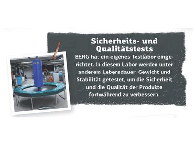 Sicherheit bei BERG Trampolinen - trampolin-profi.de