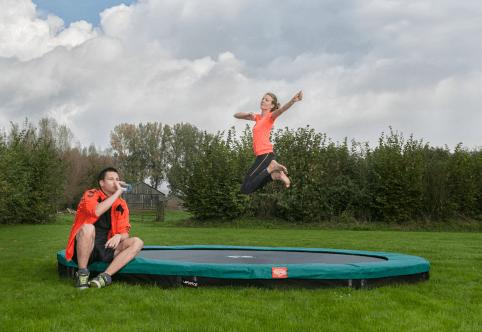 Trampolin Übungen zum Abnehmen - Tipps von trampolin-profi.de - BERG Sport Trampolin