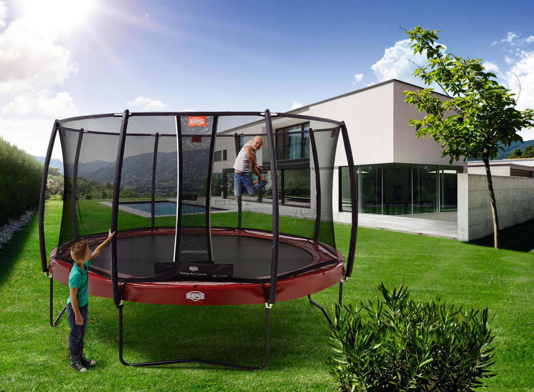 trampolinformen in oval rechteckig klassisch in rund. Black Bedroom Furniture Sets. Home Design Ideas