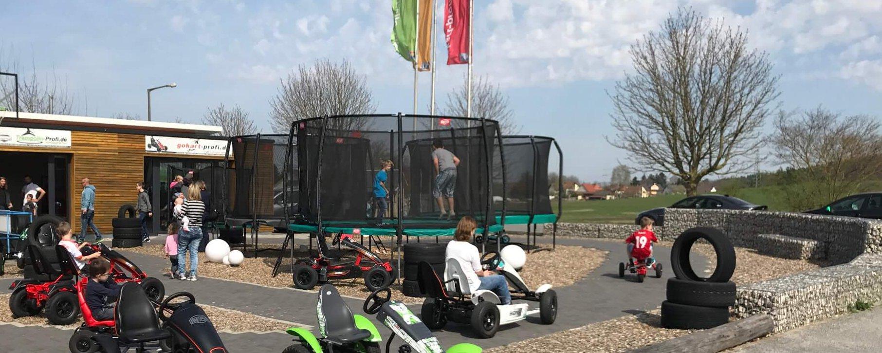 Trampolin Marken Schnäppchen bei trampolin-profi.de 29.04.2017 Lagerverkauf