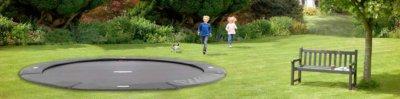 BERG FlatGround Elite Trampolin kaufen auf trampolin-profi.de - Trampolin ebenerdig