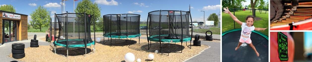 Trampolin Ausstellung - trampolin-profi.de - Burgthann bei Nürnberg