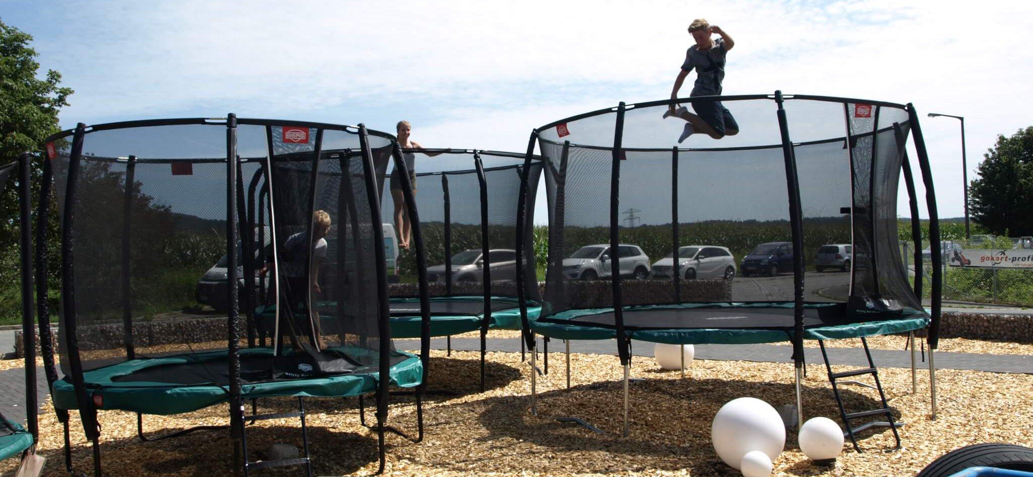 Volle Kanne - Dreh bei trampolin-profi.de Nürnberg