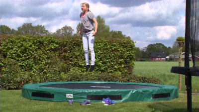 Trampolin Excellent Ground von SALTA macht Spaß - kaufen auf trampolin-profi.de