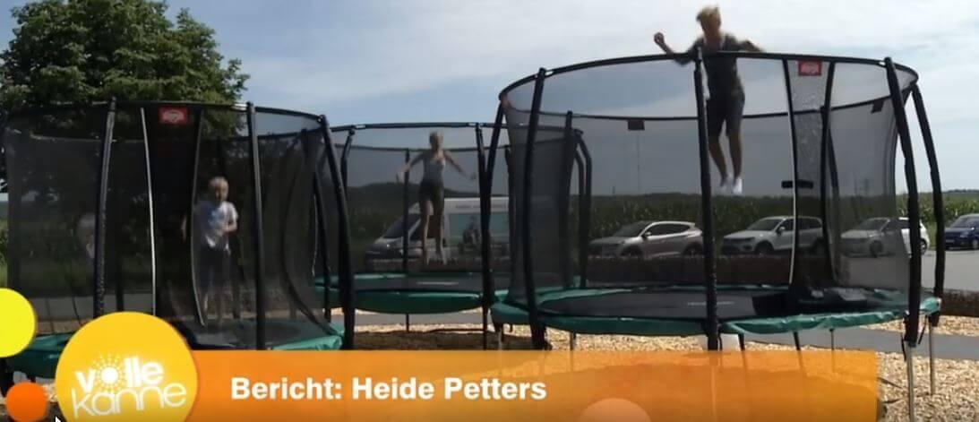 ZDF Beitrag Morgenmagazin Volle Kanne - bei trampolin-profi.de vor Ort Nürnberg