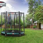 Bodentrampoline in vielen Größen + Netz bei trampolin-profi.de
