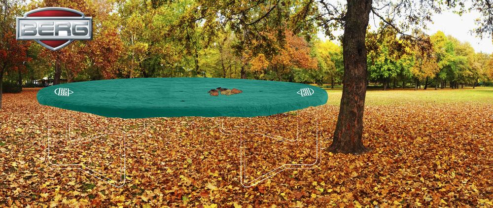 Winterabdeckung für Trampoline - jetzt bestellen auf trampolin-profi.de