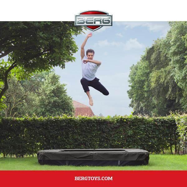 Trampolin als Erwachsenensport mit der BERG Sport Reihe - kaufen auf trampolin-profi.de