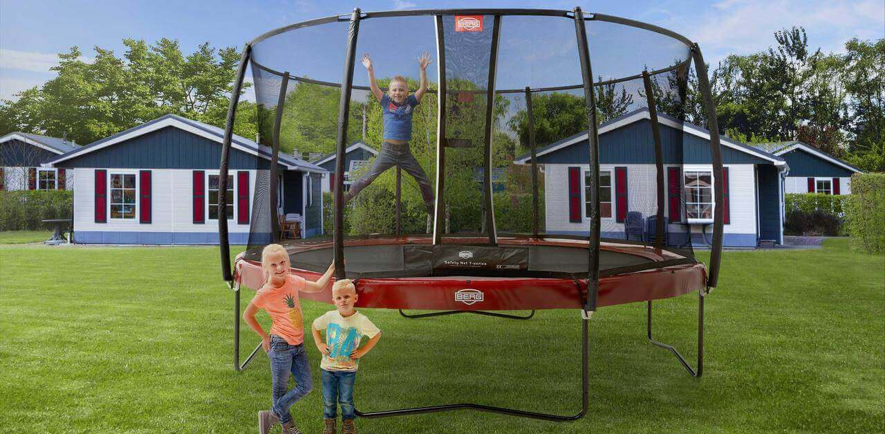 Trampolin aufstellen - Tipps von trampolin-profi.de