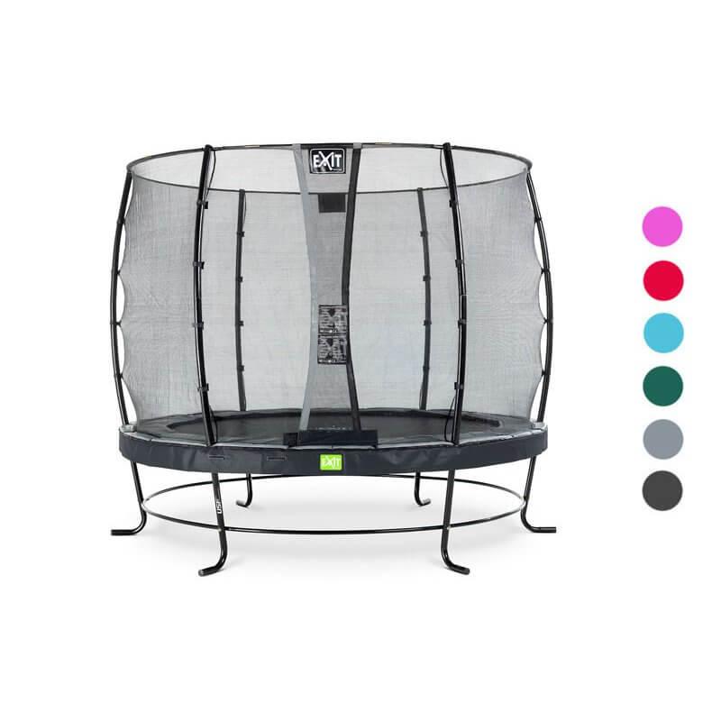 Schön im Garten: EXIT Elegant Trampolin - Beratung trampolin-profi.de