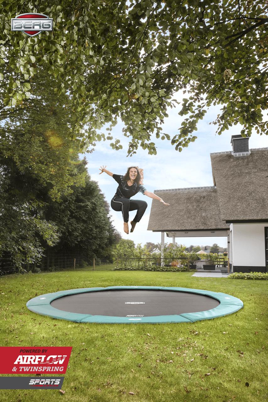 BERG FlatGround Champion Grün - trampolin-profi.de