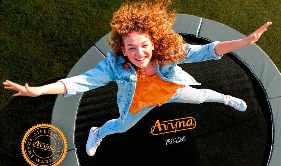 AVYNA-TRAMPOLINE – NEU bei uns im Shop - trampolin-profi.de