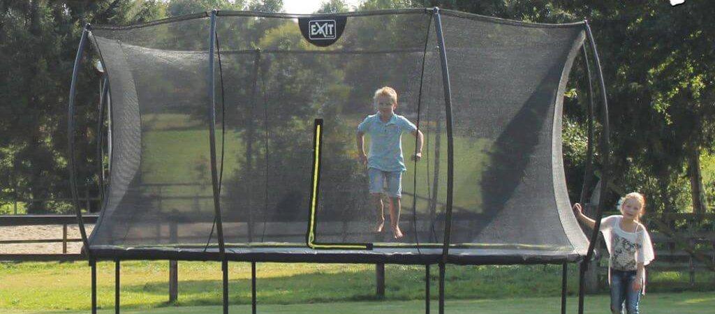EXIT Trampolin Silhouette Reihe - trampolin-profi.de