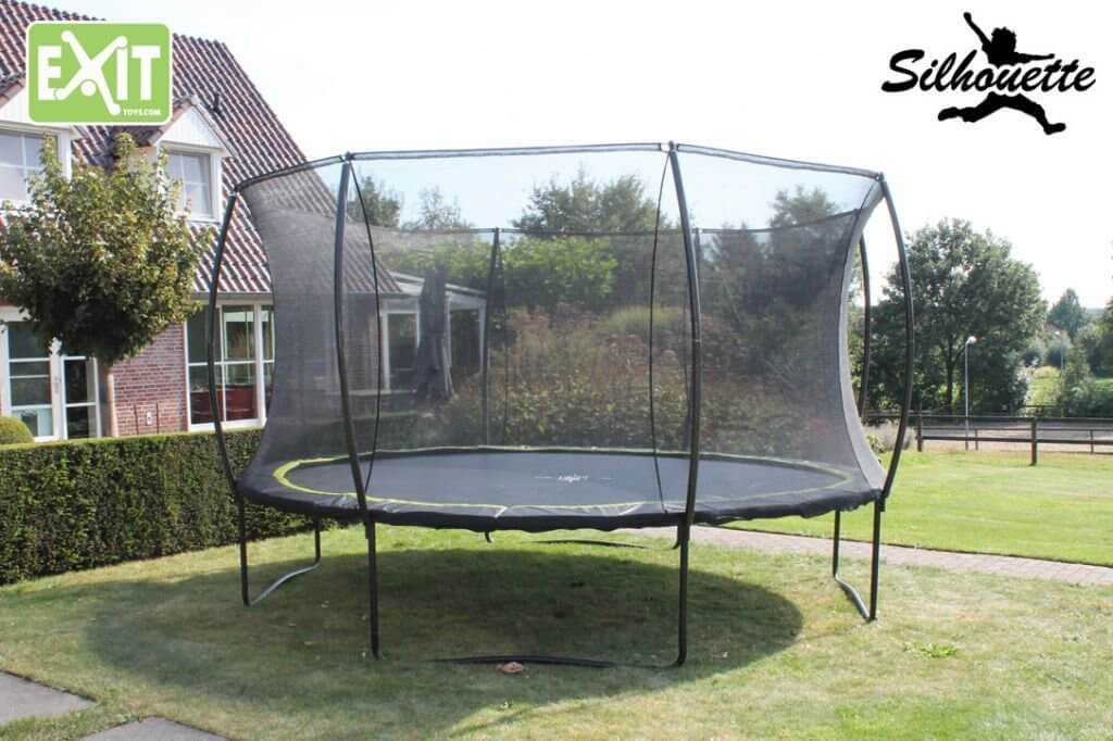 EXIT Trampolin Silhouette Reihe bei trampolin-profi.de