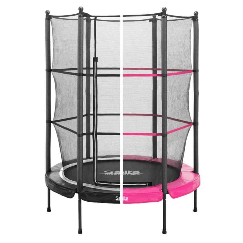salta junior kindertrampolin der spa f r drinnen und drau en. Black Bedroom Furniture Sets. Home Design Ideas