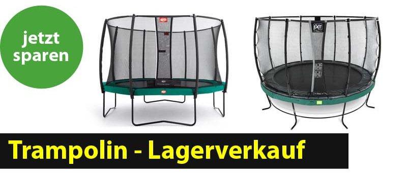 Wir räumen unser Lager: 6.10.2018 trampolin-profi.de