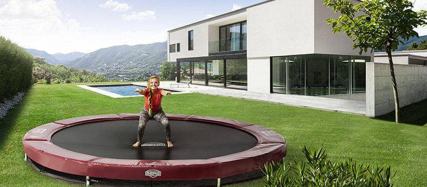BERG Inground – ein Trampolin so schön wie nie - Ratgeber trampolin-profi.de - gewerbliche Nutzung