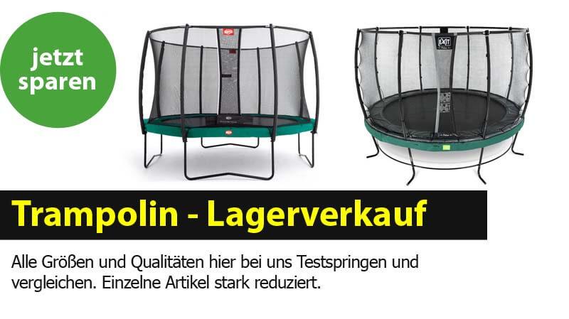 Lagerverkauf bei Trampolin-Profi.de Burgthann