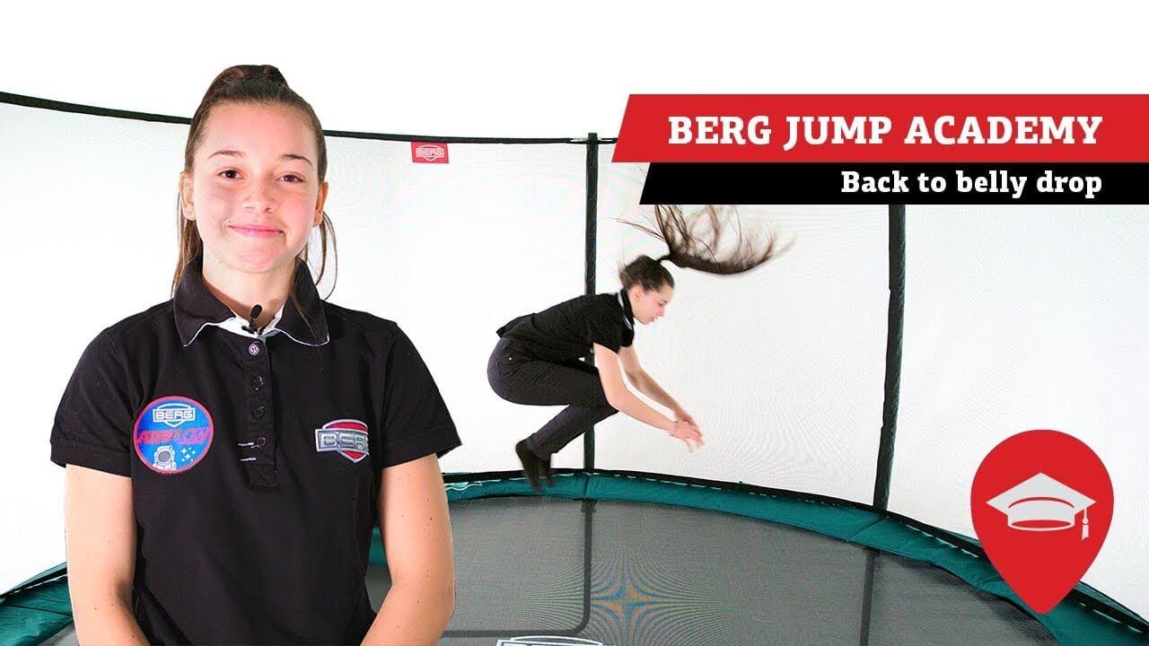 BERG Jump Acacemy - Sprünge Tutorial Gartentrampolin - trampolin-profi.de