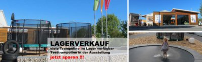 Trampoline günstig kaufen: Trampolin Ferien Lagerverkauf 2018 bei trampolin-profi.de