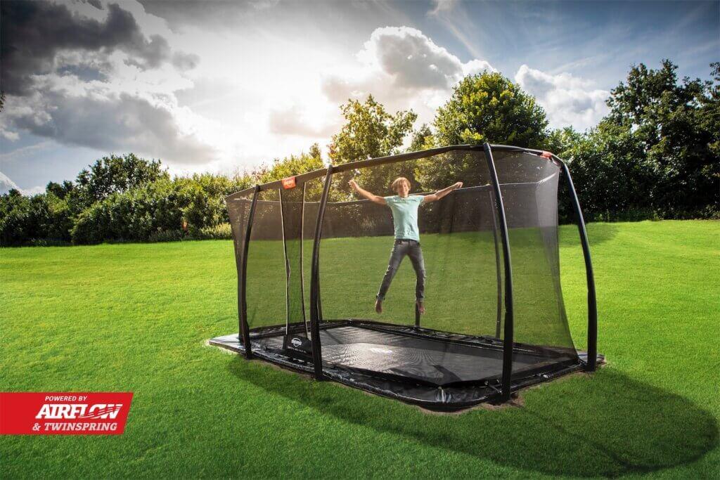 Trampolin Inground mit Netz - kaufen auf trampolin-profi.de